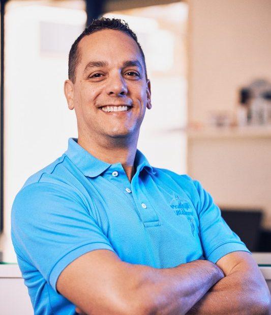Adam Toulon, chiropractor bij Chiropractie Blaauw