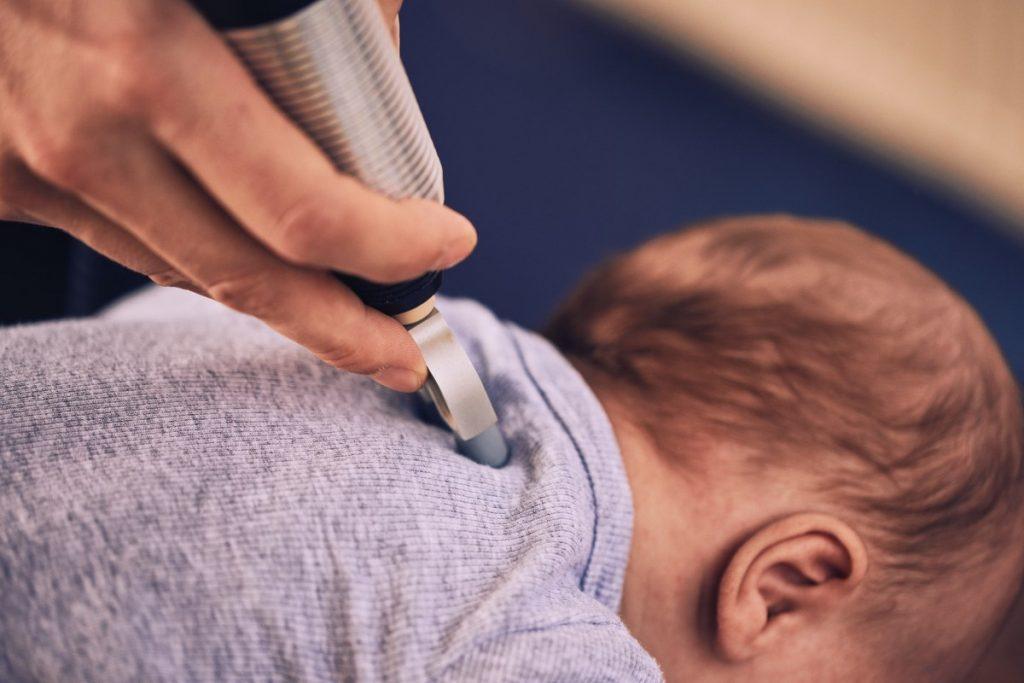 Wervelblokkade bij baby's verhelpen Chiropraktijk Blaauw